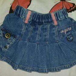 Продам джинсовую юбочку в отличном