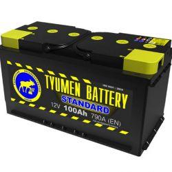 Acumulator Tyumen Standard 100 Ah 790 A