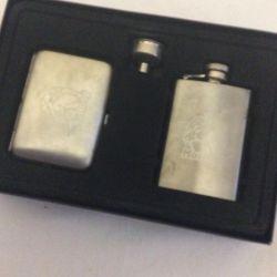 Cutie cadou și țigară