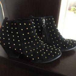 Ανδρικά μπότες Topshop Suede