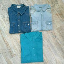 Рубашки пакетом 48-50