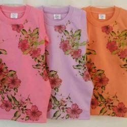 👗👚Туничка - платье 80-86-92-98