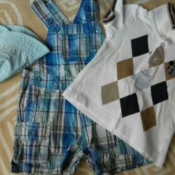 3-6-9m. H & M Stylish clothes for boy