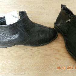 Pantofi de piele de primăvară demi-sezon pentru bărbați
