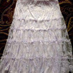 Кружевная юбка для фотосессий