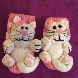 Пинетки-носки детские новые