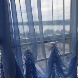 Curtains 5 meters for a balcony, verandas