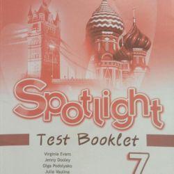 Spotlight Test Booklet Grade 7
