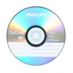 Philips DVD-R 16X 4,7GB 120-Min