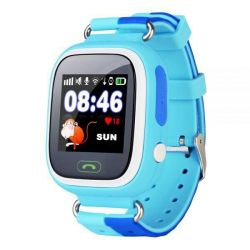 Smart kids watch smart blue