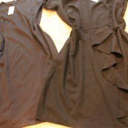 Many new dresses