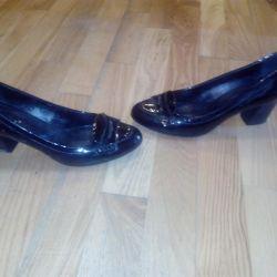 Shoes natural varnish 39r