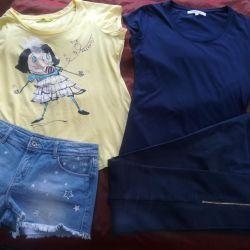 Μπλουζάκια και παντελόνια / σορτς