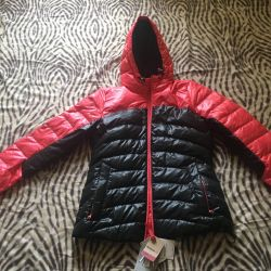 New down jacket Reebok, s