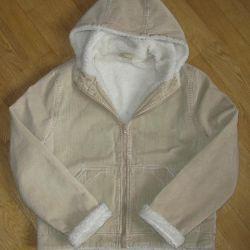 Beige Micro Velvet Jacket