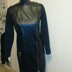 Dress elegant leather