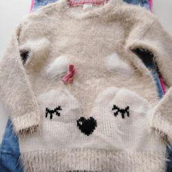 Children's sweater Kitten