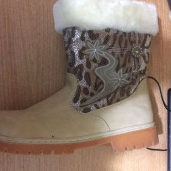 Boots new winter. female 41