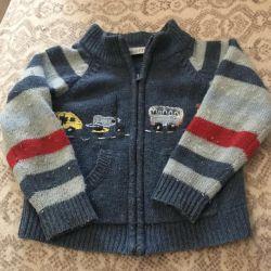 Woolen jacket Minibotty