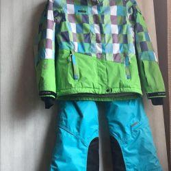 Παντελόνια και σακάκι σκι