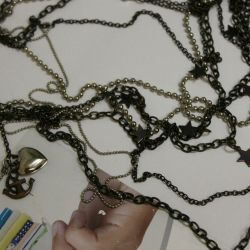 Bracelet, chain.