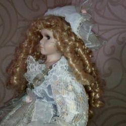 Porcelain doll of the USSR
