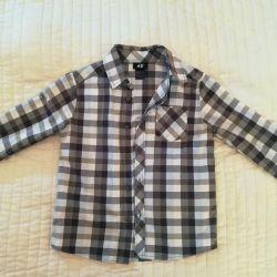 Рубашка H&M 6-7 лет