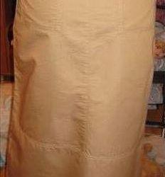 Βαμβακερή φούστα καλοκαίρι r. 46
