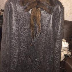 Sheepskin coat light