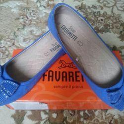 Shoes ballet shoes p. 36, new