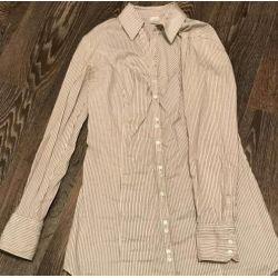 Elongated blouse shirt fashionable