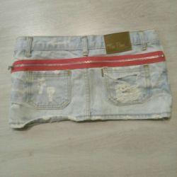 Jeans fusta