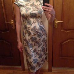Chinese silk dress