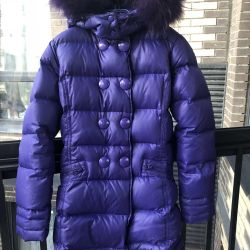 Down jacket Snowimage for a girl on height 152