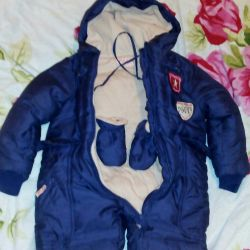 Winter jumpsuit 6-9 months