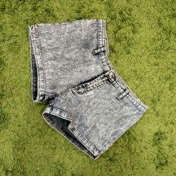 Pantaloni scurt denim