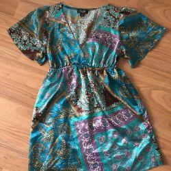 Original Satin Silk Beach Dress