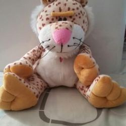 Soft toy leopard