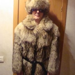 short fur coat