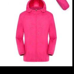 New women's jacket-windbreaker.