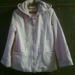 Jachetă ușoară, nouă, dimensiune 48 (rusă)