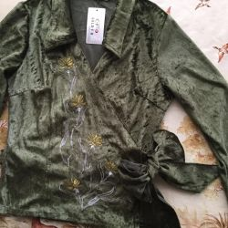 Jacket, blouse for women - new