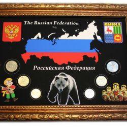 Декоративные панно с монетами