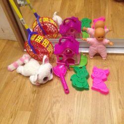 Toys for children set