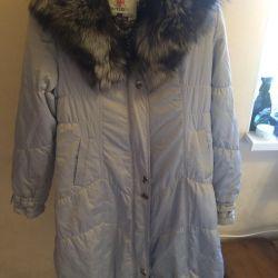 Down jacket fur