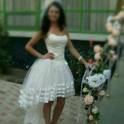 Платье свадебное-вечернее(на выпускной)