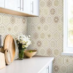 Wall-paper for kitchen waterproof Eurodecor 0.53m
