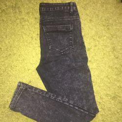 Jeans with high waist
