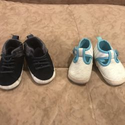 Shoes, shoes, sneakers for the baby