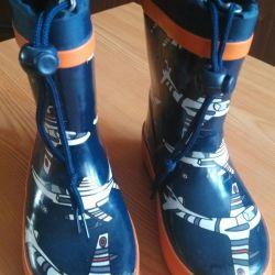 Παιδικές μπότες από καουτσούκ. Twins 23 μέγεθος.